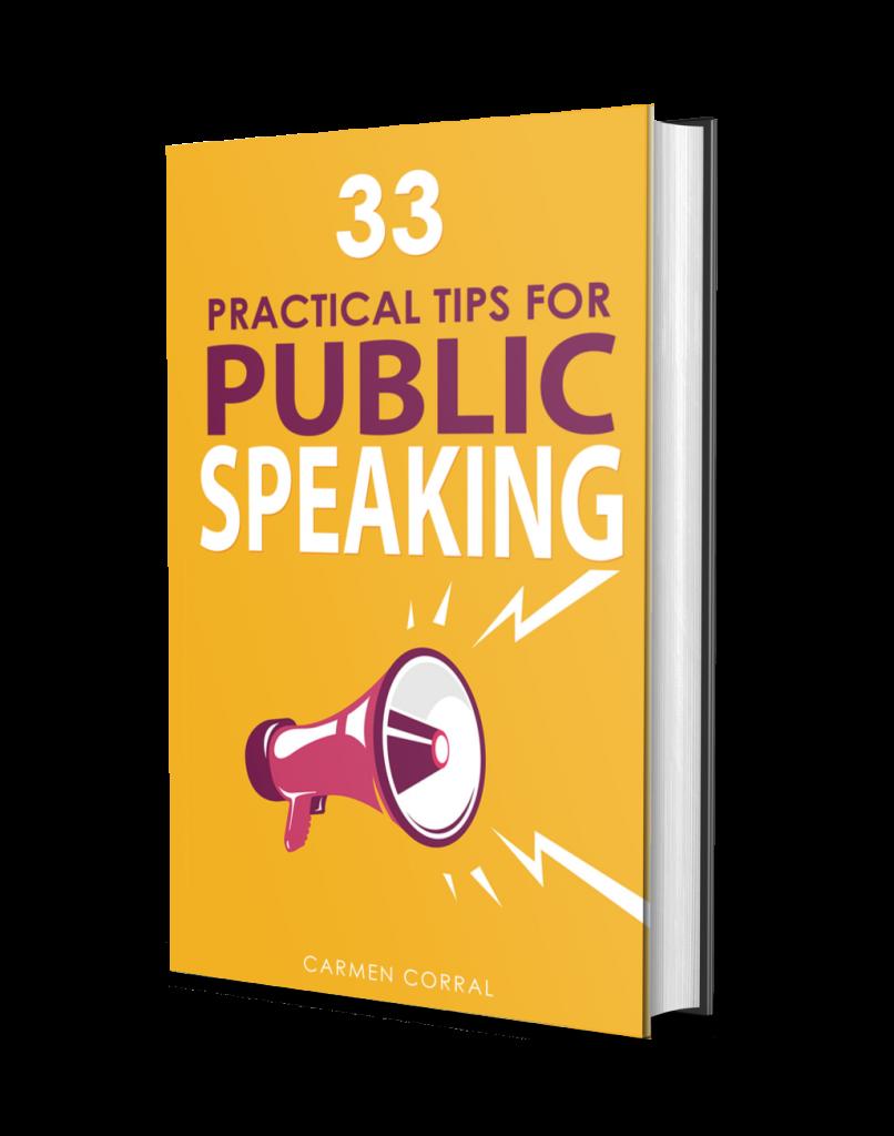 33 practical tips for public speaking
